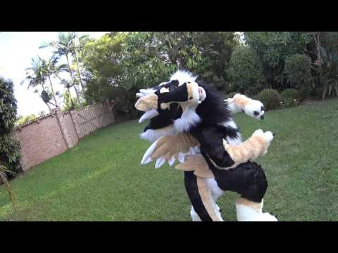 Daiko's Look Book / First Suit Up! - Skypro Fursuits