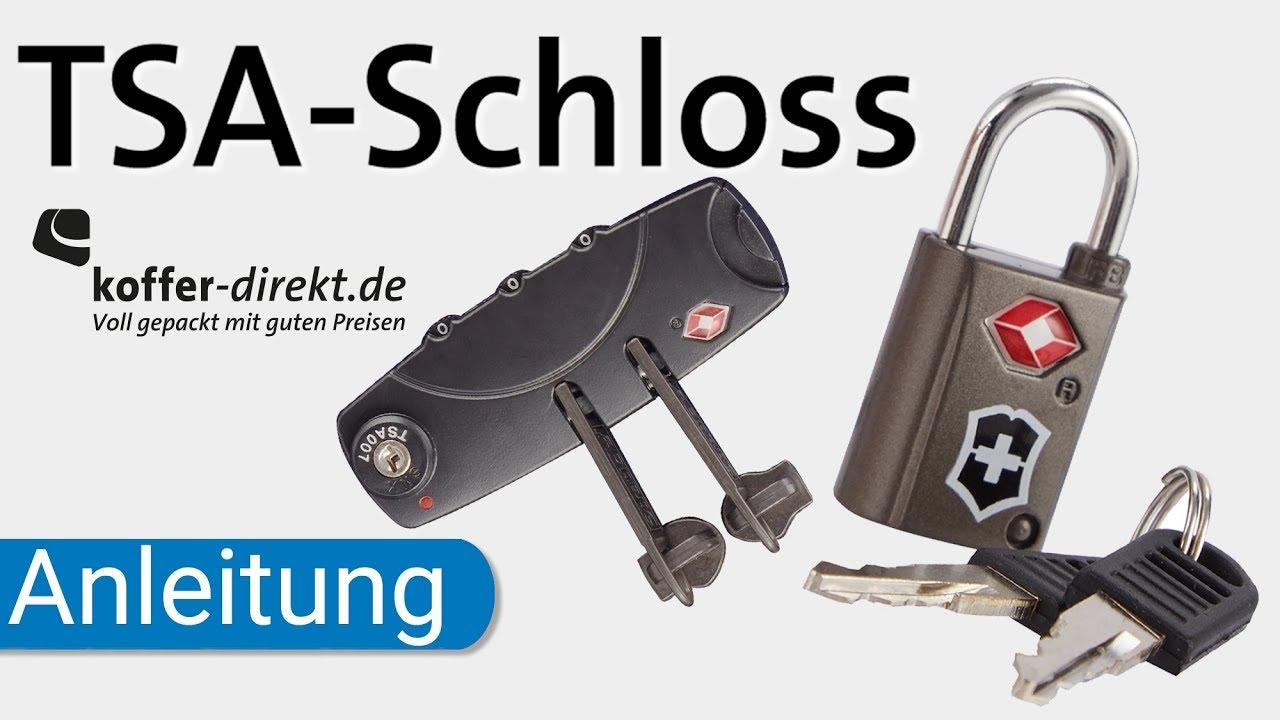 buying now unique design fashion styles TSA Schloss | erklärt | einstellen | Code vergessen | koffer-direkt.de