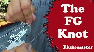The Best Braid to Fluorocarbon Leader Knot - The FG Knot