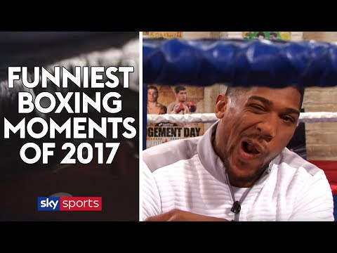 Funniest Boxing Moments of 2017! Featuring Anthony Joshua, Tony Bellew, Carl Froch and more!