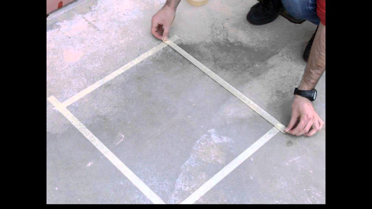 Come verniciare il pavimento di un box  YouTube