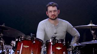 Tama Starclassic Bubinga Exotix Drum Kit with Matt Garstka