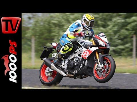 Aprilia Tuono V4 1100 Factory | Naked Bike Test Rennstrecke