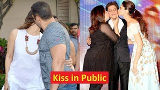 12 Bollywood Couples Who Kissed Each Other In Public