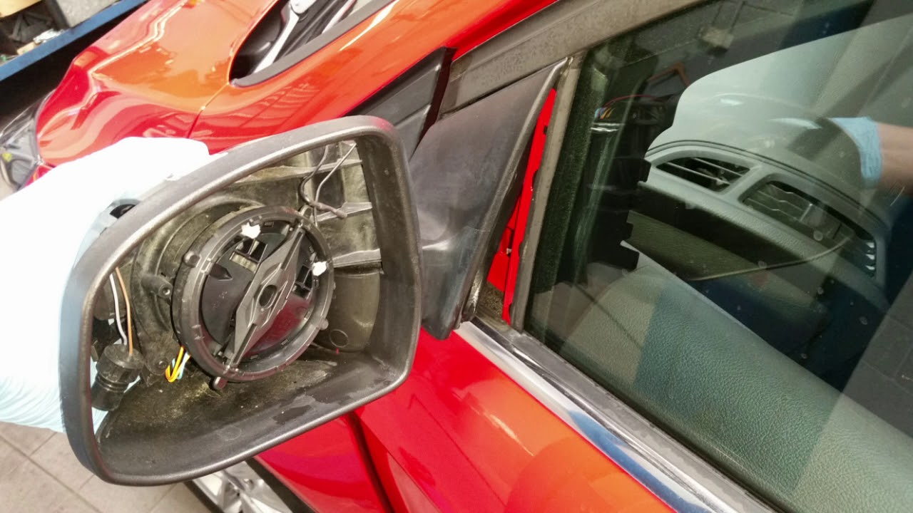 How To Replace The Outside Ambient Temp Sensor Ford Focus Mirror Assembly