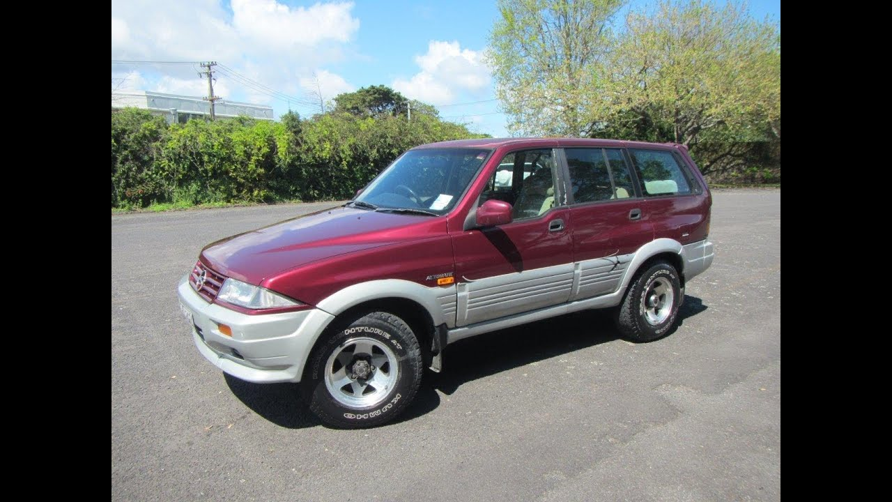 Ssangyong 7 Seater >> 1996 Ssangyong Musso 7 Seater SUV $1 RESERVE!!! $Cash4Cars$Cash4Cars$ ** SOLD ** - YouTube