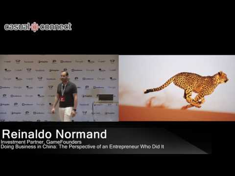 Doing Business in China: Perspective of an Entreprenuer | Reinaldo Normand