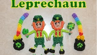 Rainbow Loom Leprechaun - St. Patrick