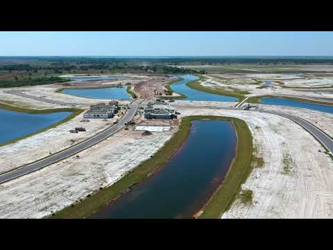 Stonecrest new construction homes for sale | aerial drone view | Viera, FL