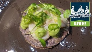 michelin star chef graham garrett creates scallop ceviche taco recipe