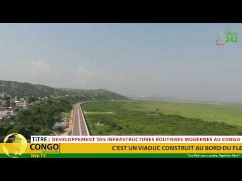 VÉRITÉ 242 : Congo Brazzaville, infrastructure routière moderne (Viaduc)