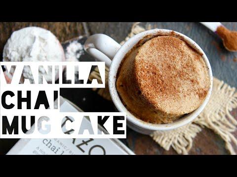 1 Minute Chai Latte Mug Cake   How To Make A Healthy Starbucks Chai Latte Mug Cake