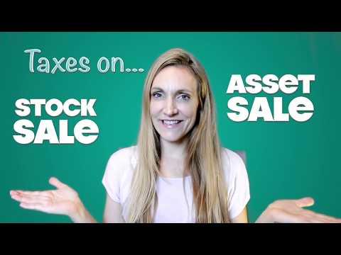 Tax on Asset Sales vs. Stock Sales