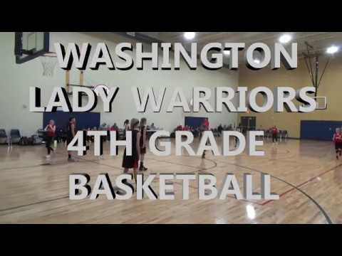 2018 Washington Lady Warriors 4th Grade Basketball