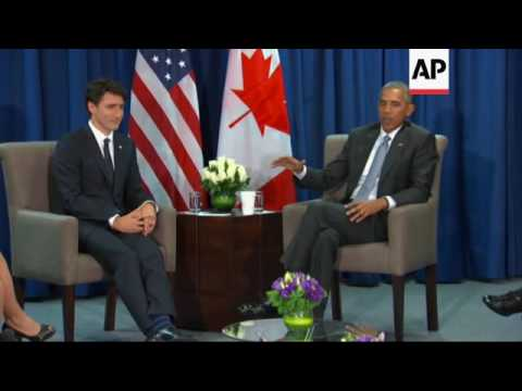 Obama Affirms Continuity of Ties with Canada