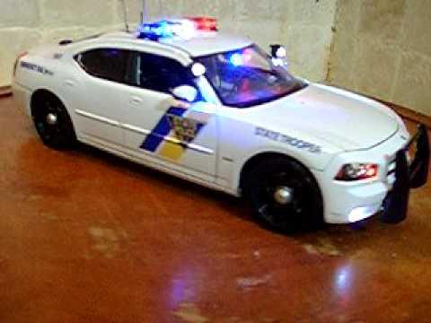 1 18 Dodge Charger R T Njsp Police Ut Lights And Siren