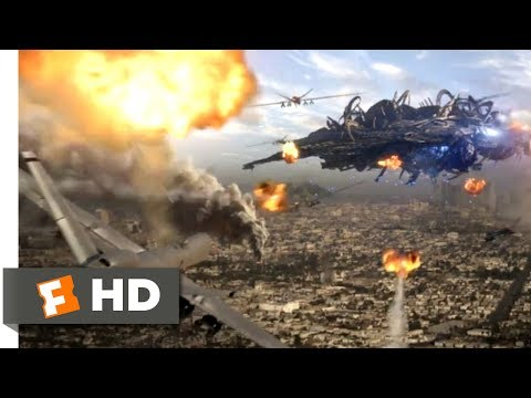 Skyline (2010) - Air Force to the Rescue Scene (6/10) | Movieclips