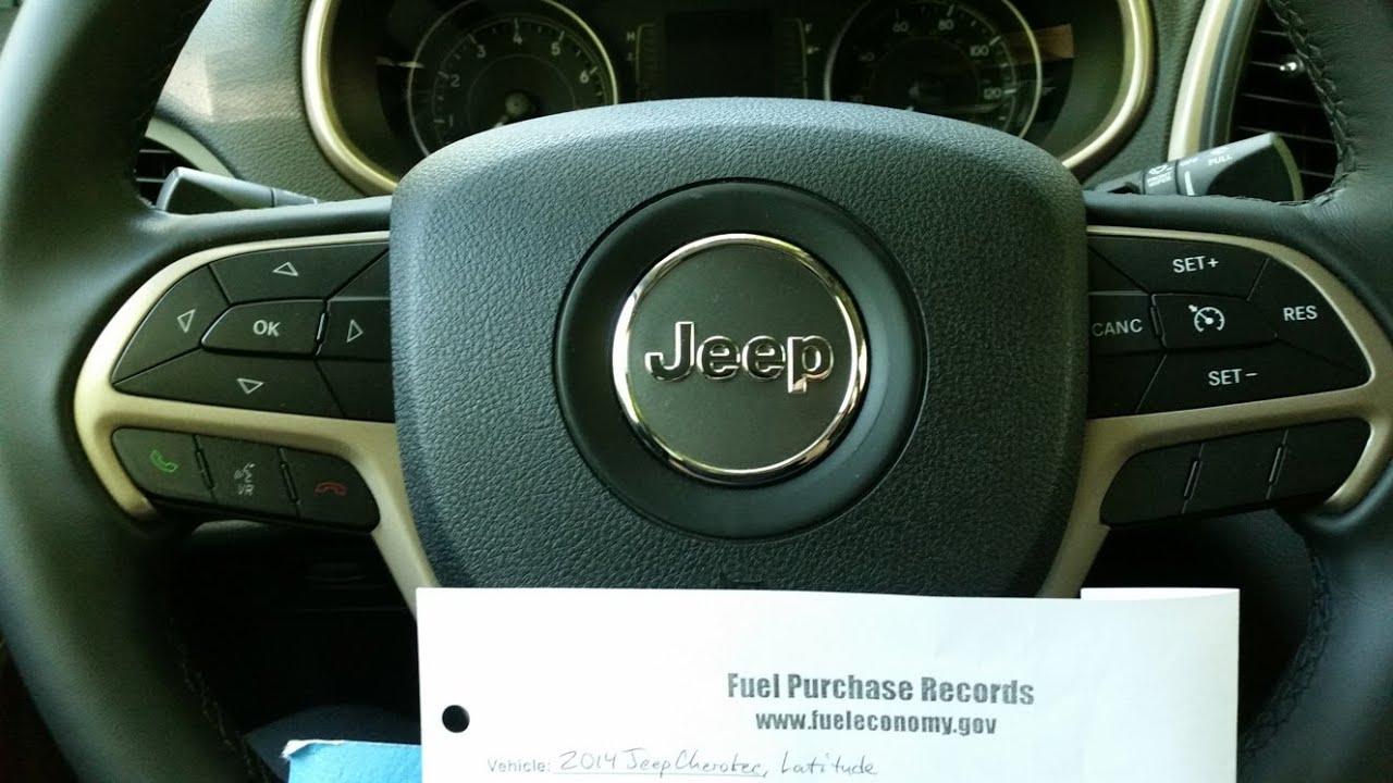 2014 Jeep Cherokee: Highest MPG Achieved