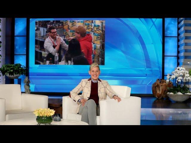 Eric Stonestreet Unexpectedly in Michael Bublé's Hidden Camera Prank