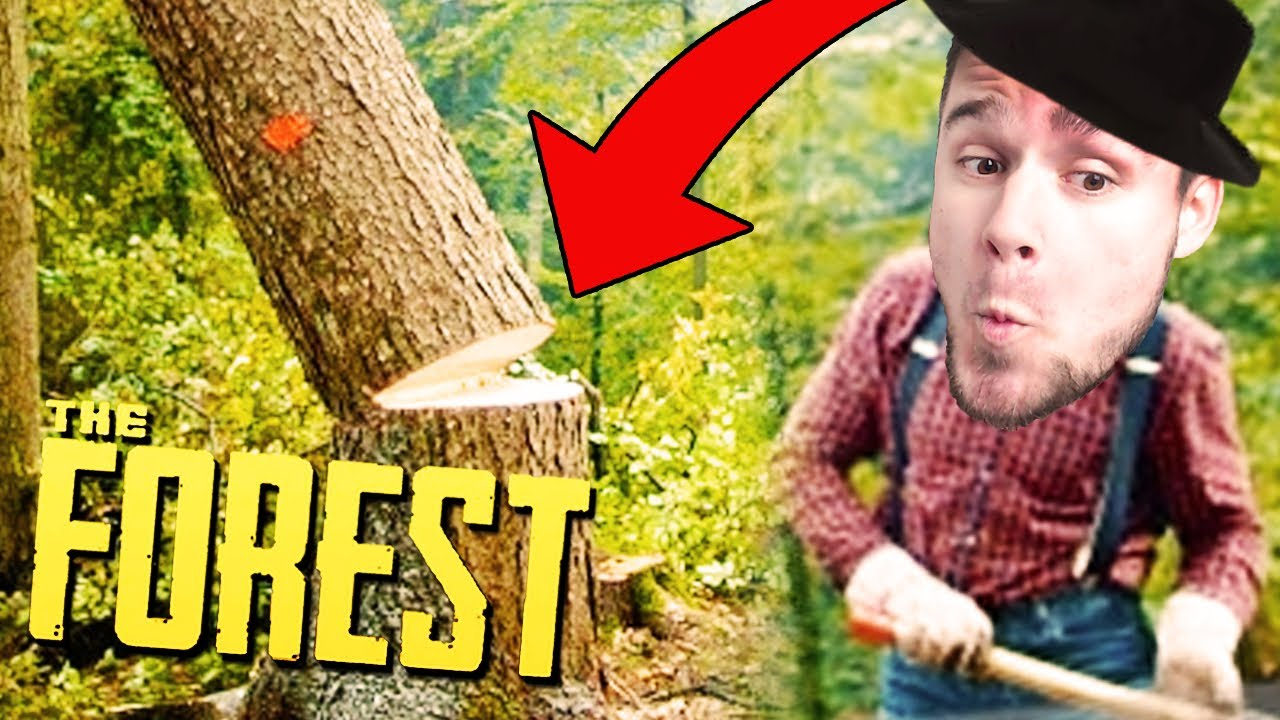 ZWALIŁEM SE DRZEWO! | The Forest [#11] (With: Dobrodziej)