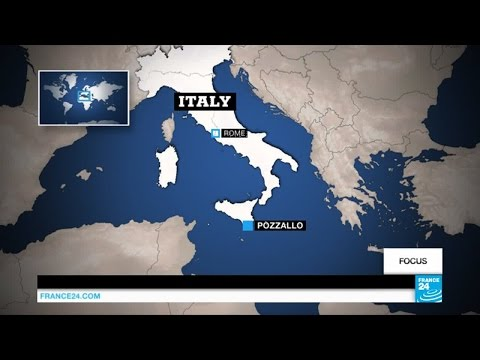 Video: Inside a migrant hotspot in southern Italy