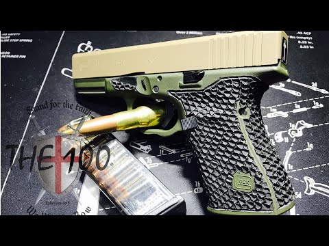 Perfecting Perfection- Glock 19 Custom Stippling and Performance Upgrades
