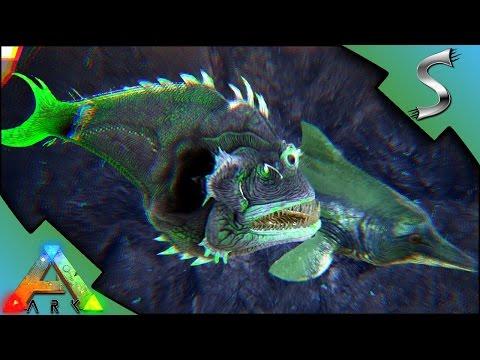 ANGLER FISH & ICHTHY BREEDING + IMPRINTING! COLOUR MUTATED ANGLER! - Ark: Survival Evolved [S3E84]