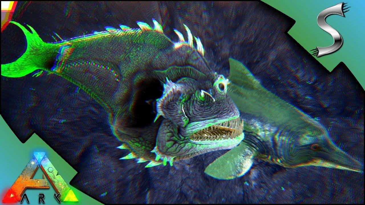 Angler fish ichthy breeding imprinting colour mutated for Angler fish ark