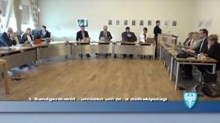 Fundur Bæjarstjórnar 2.maí 2017