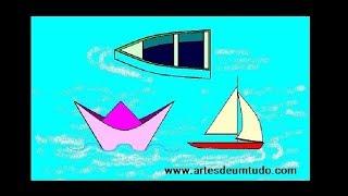 Como Desenhar Barcos