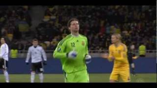 Ukraine - Germany 3-3 (Украина - Германия 3-3)(Украина - Германия 3:3 Голы: Ярмоленко, 28, Коноплянка, 36, Назаренко, 45 - Кроос, 38, Рольфес, 65, Мюллер, 77 Украина:..., 2011-11-12T08:18:17.000Z)