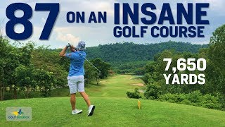 How to INSANE break 90 like an INSANE BAUS - The craziest course in Thailand