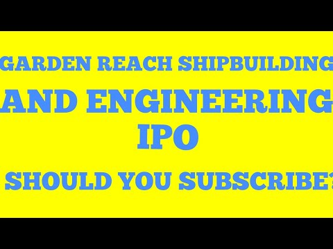 Garden Reach Shipbuilding & Engineering Ltd.|| Everything you need to know.