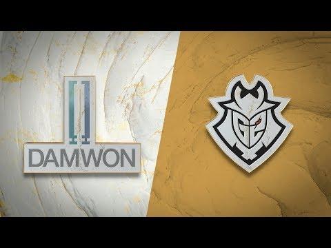 DAMWON Gaming vs G2 eSports vod
