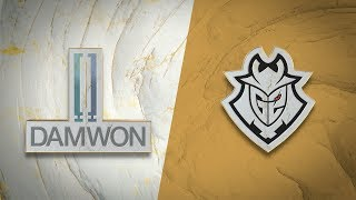 DWG vs G2 | Quarterfinal Game 1 | World Championship | DAMWON Gaming vs G2 Esports (2019)
