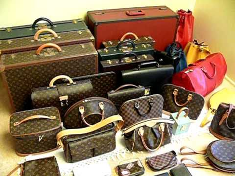1d4825cfab6 COLLECTING LOUIS VUITTON - My Humble LOUIS VUITTON Collection for 2011 -  YouTube
