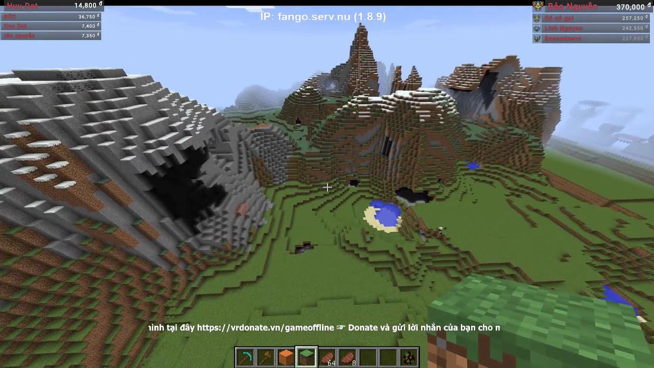 Minecraft #28 – Vào Xây Tiếp Lâu Đài Cho Ỷ Mộng =))