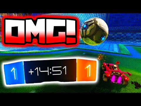 World's LONGEST 15 MINUTE Overtime EVER!! ( Rocket League Record )