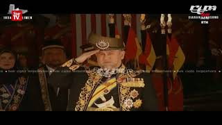 Agong opens sixth session of 13th Parliament