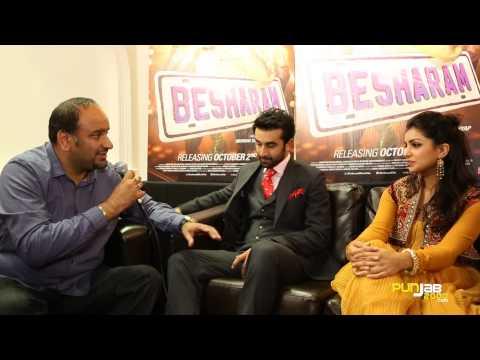 Harjap Bhangal interviews Ranbir Kapoor & Pallavi Sharda about BESHARAM