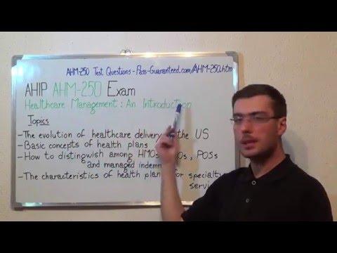 Ahm 250 Healthcare Exam Management Test Introduction Questions