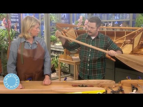 Make Your Own Canoe Paddle - Martha Stewart