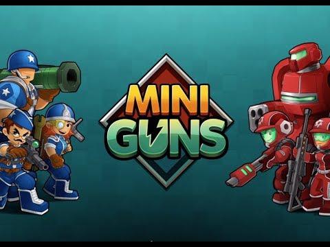 Mini Guns Tutorial Levels (think military Clash Royale)