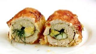 Куриные рулетики на сковороде/  Вкусный Простой рецепт