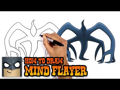 How to Draw Mind Flayer | Stranger Things (Art Tutorial)