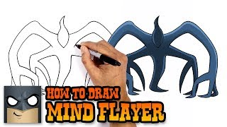 How to Draw Mind Flayer   Stranger Things (Art Tutorial)