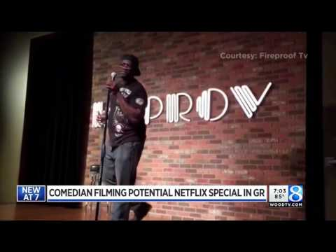 Local comedians stand up may stream on Netflix