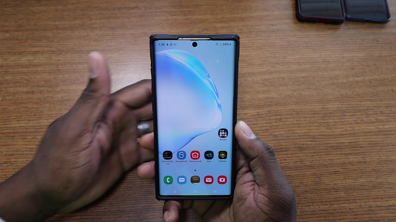 Samsung Galaxy Note 10 Plus | Battery Life is