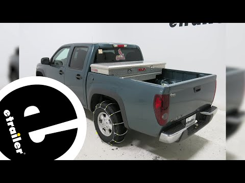 Glacier Cable Snow Tire Chains Review - 2006 Chevrolet Colorado - etrailer.com