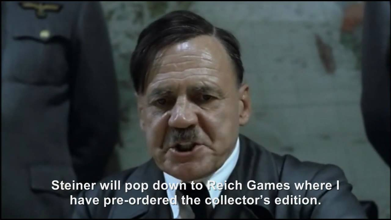 Hitler plans to buy StarCraft 2: Wings of Liberty